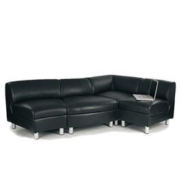 Leather Modular Reception Seating Collection