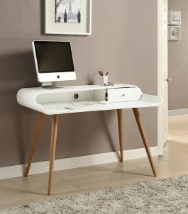 PC702 Tower Desk (White Ash)1