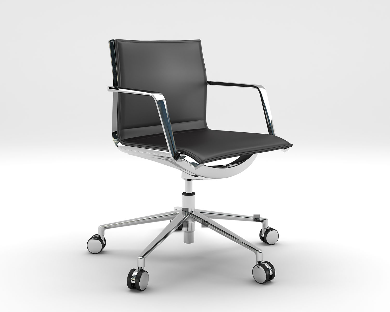 Aluminia Leather Office Chair