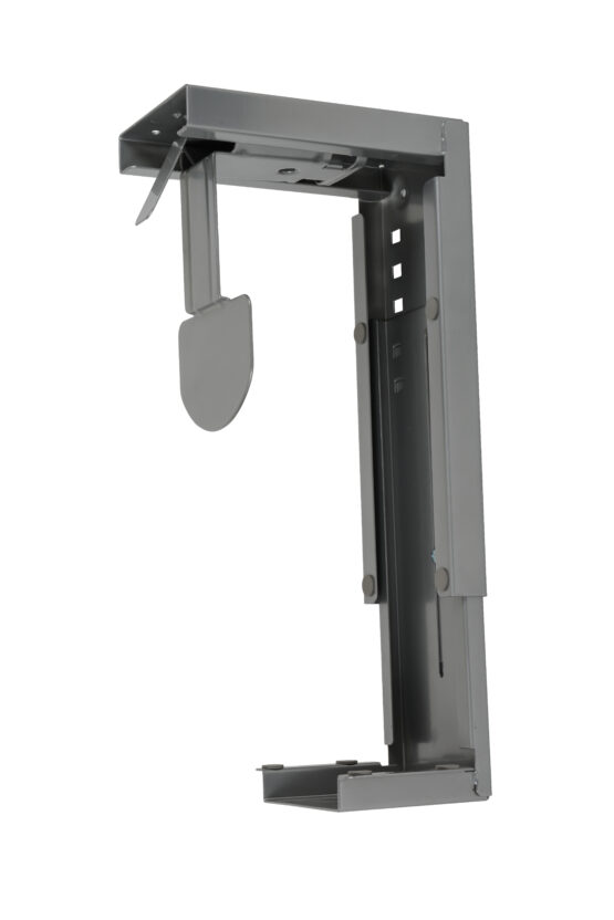 Large CPU holder for fixing to desk top