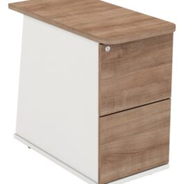 Desk High Pedestal - 2 Drawer - Ascend Range