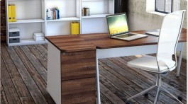Desk High Pedestal - 3 Drawer - Ascend 4