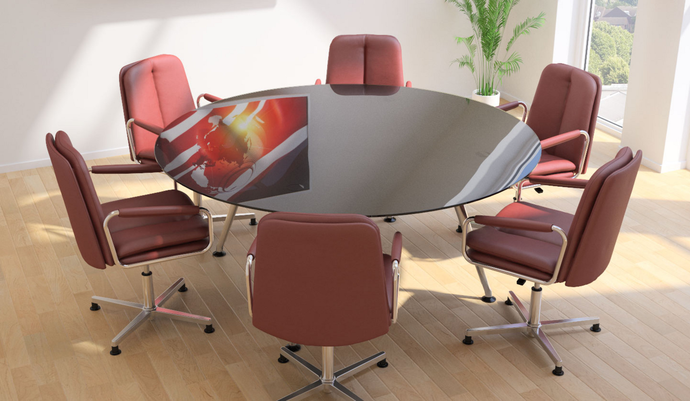 Peachy Eclipse Conference And Meeting Tables Home Interior And Landscaping Eliaenasavecom