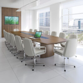 Fulcrum - Conference Table - Barrel Shape