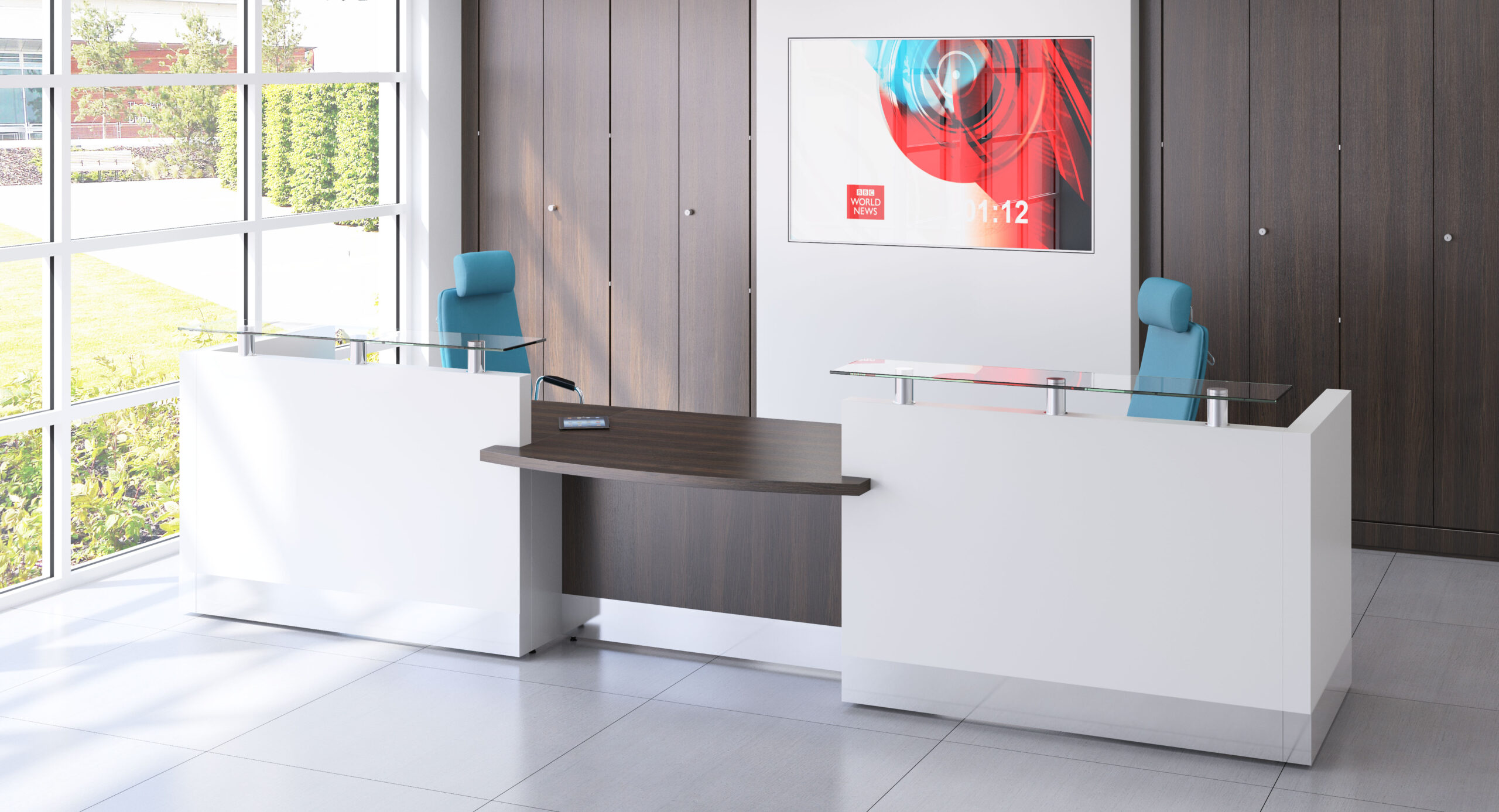 Fulcrum Pro Reception Desk