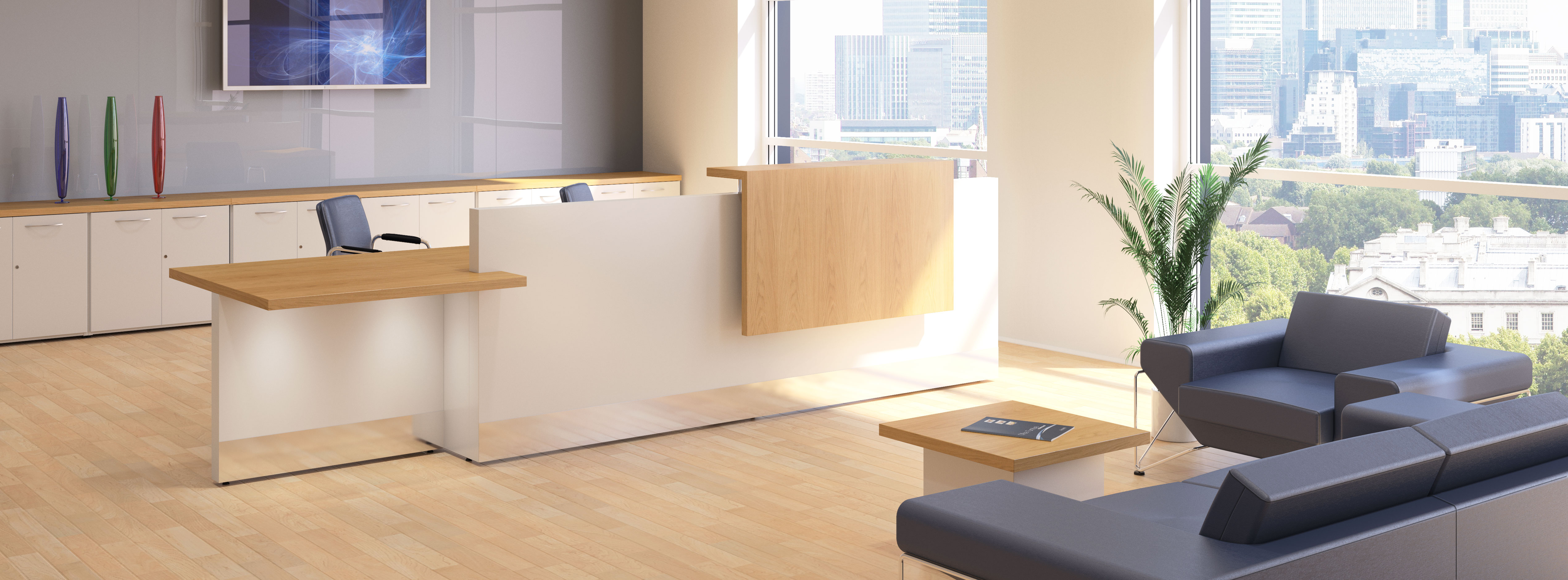 Fulcrum Pro - Reception Desk