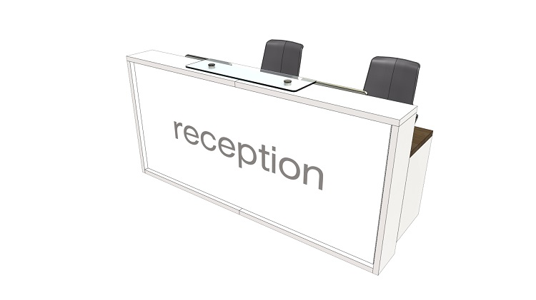 LC Reception Desk