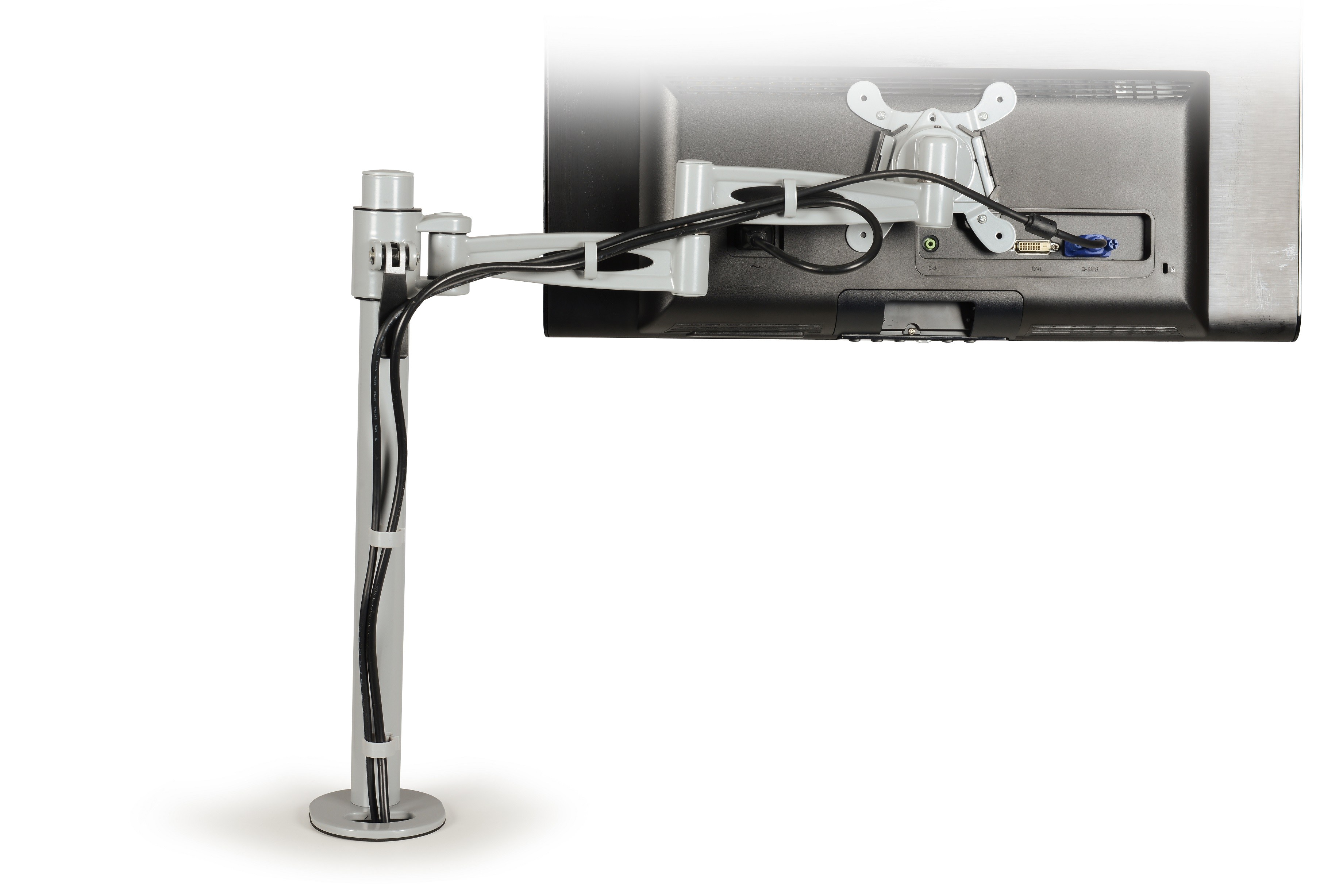 Kardo Pole Mounted Monitor Arm for single screen