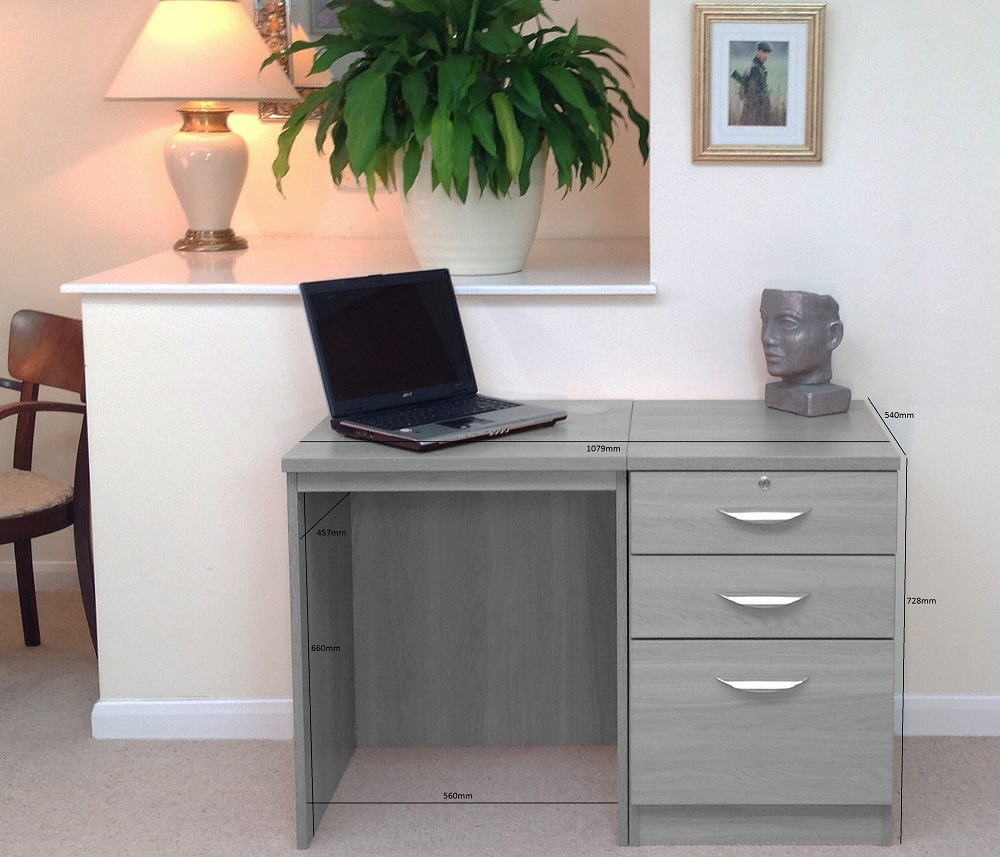 SET-02 (d) Dimensions Home Office Furniture UK Unit Sizes