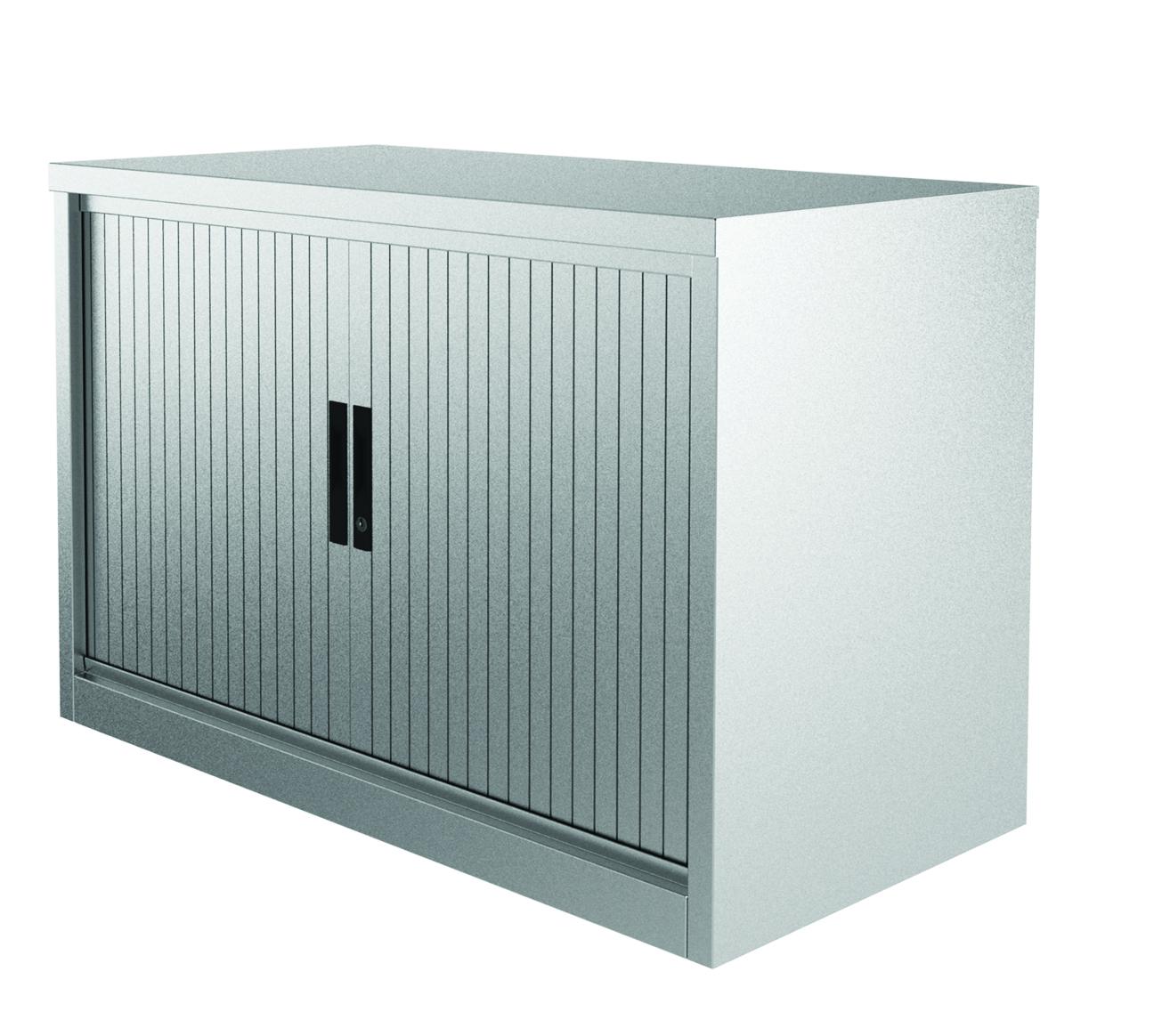Kontrax - Side Tambour Lockable Office Storage (Horizontal)