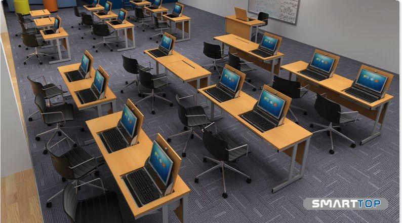 SmartTop Double Desk