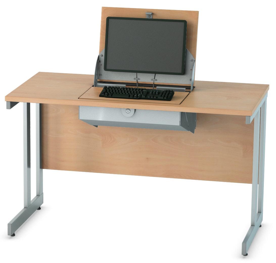 SmartTop Single Central Desk