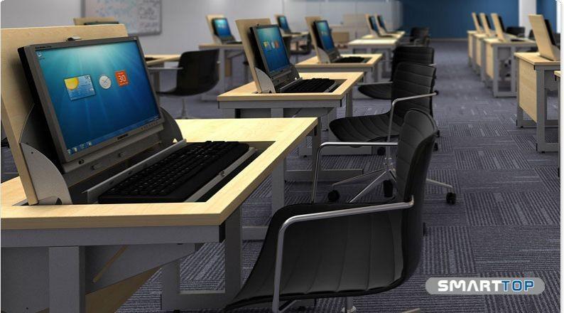 SmartTop Single Desk