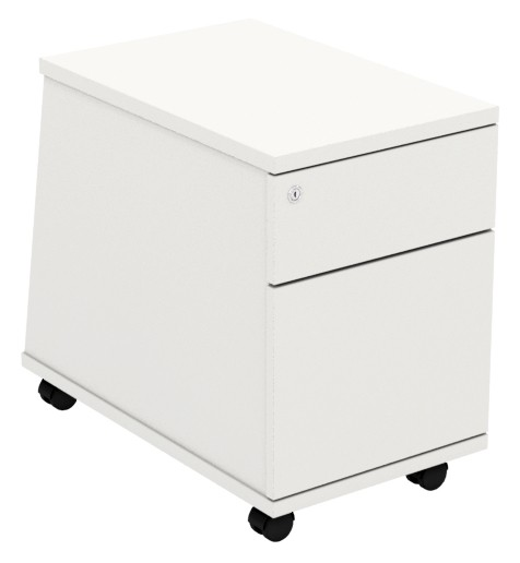 Under Desk Pedestal - 2 Drawer -  Ascend Range