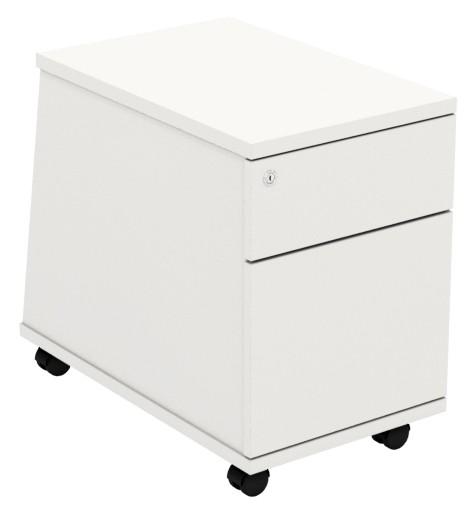 Under Desk Pedestal - 2 Drawer - Ascend Range
