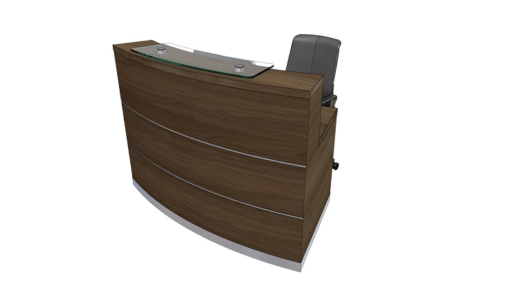 Eclypse Compact Reception Desk