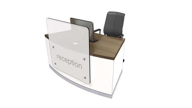 ZED Compact Reception Desk