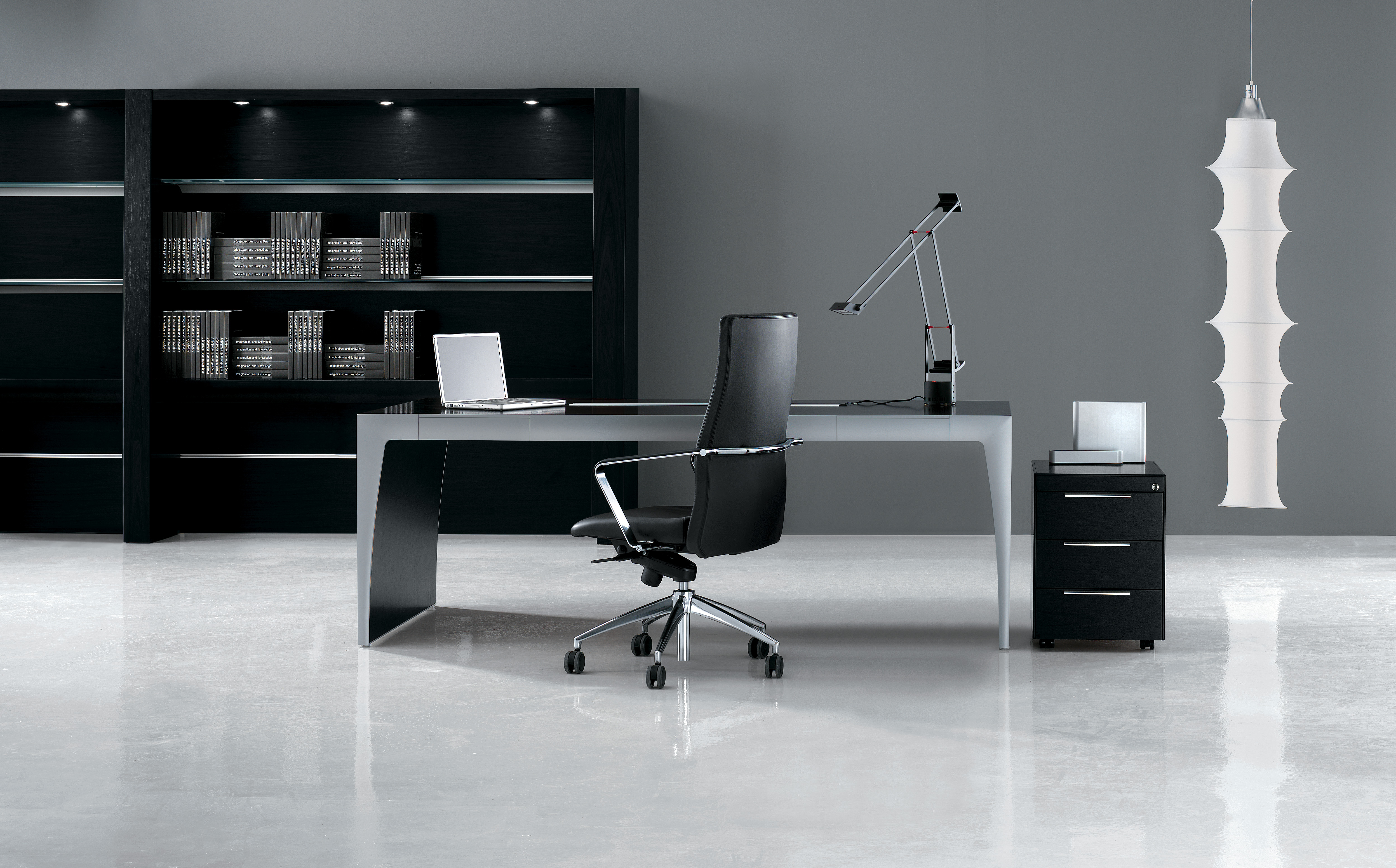 CX Black Ash Desk