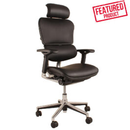 .Ergo Human - Leather Chair & head rest