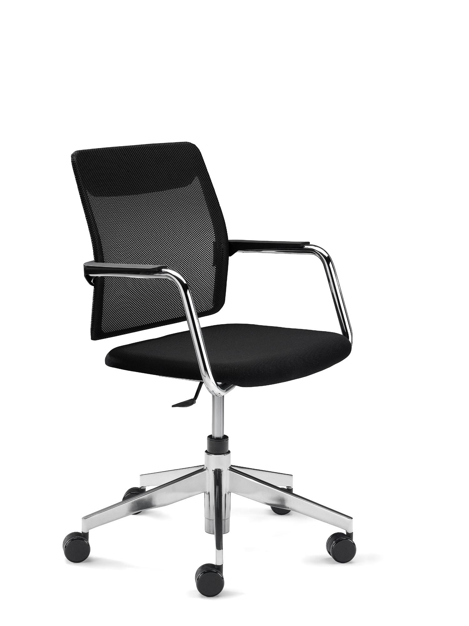 Black Mesh Back - Meeting Chair