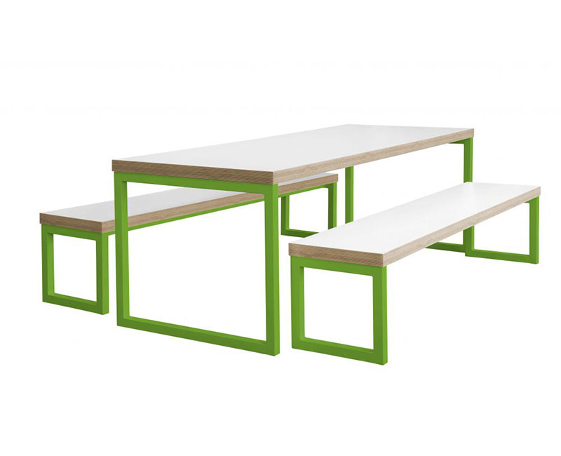 DADFORD TABLE AND BENCH SET