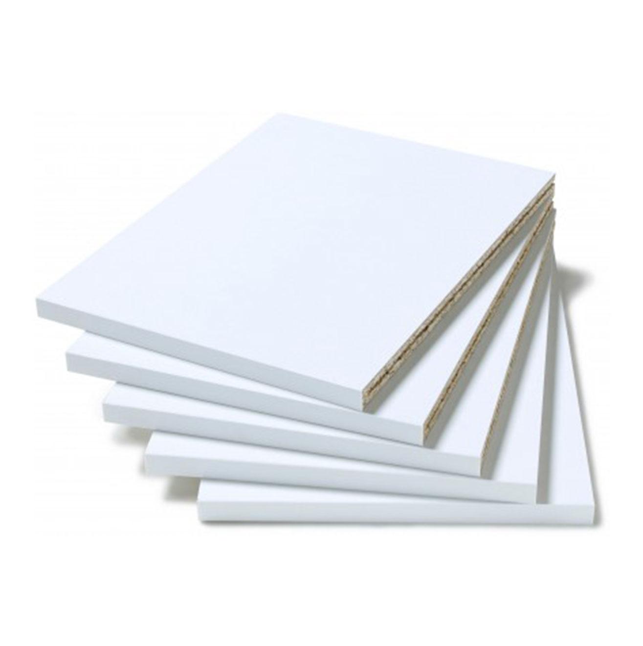 Extra shelving packs - White