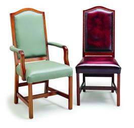 Edinburgh Armchair On Castors Margolis Furniture