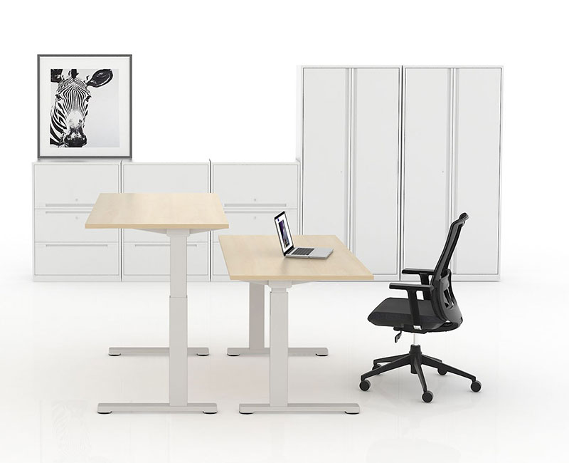 E-DESK HEIGHT ADJUSTABLE