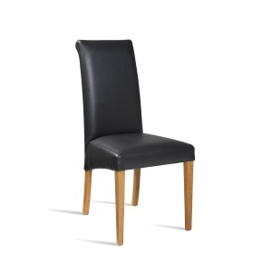 Faux Leather Lynx Side Chair