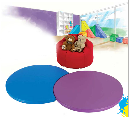 Colourful Mats & Beanbags for Schools