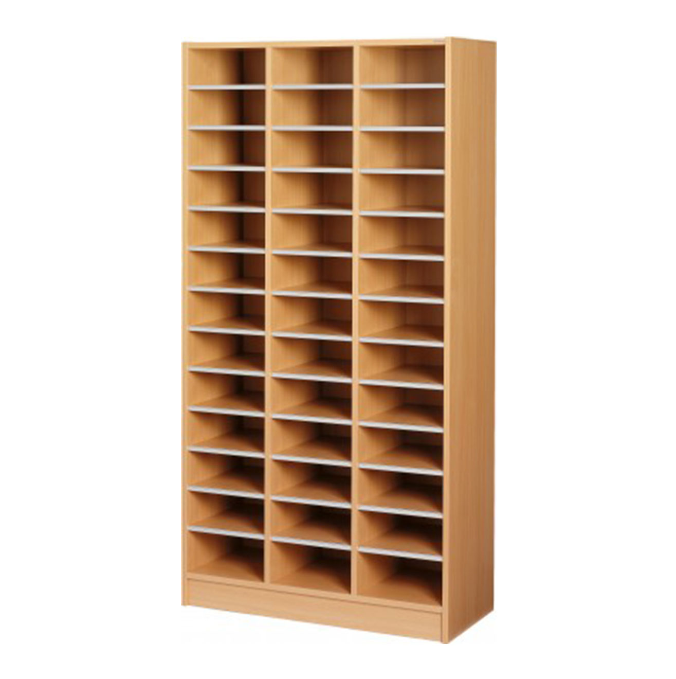 Maxi Pigeon Hole Cabinet - Beech