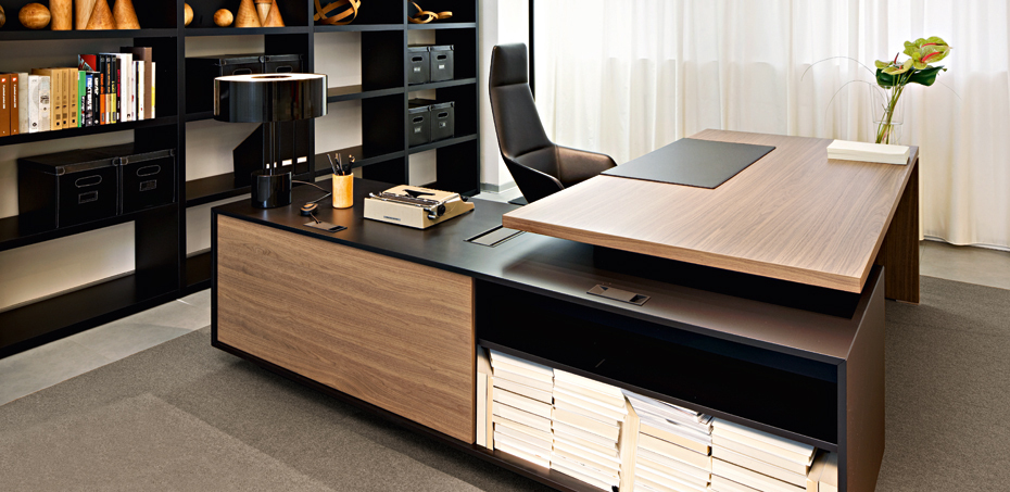 Executive Desk Report L Shape Margolis