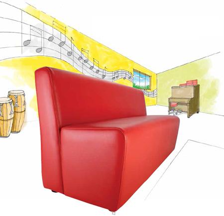 Jolly Notes School Sofa