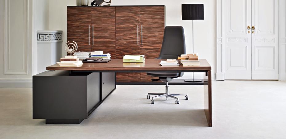 executive desk report l shape margolis furniture