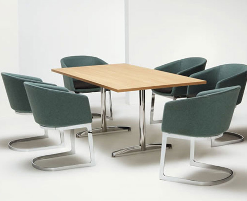 DRUM CANTILEVER CHAIRS
