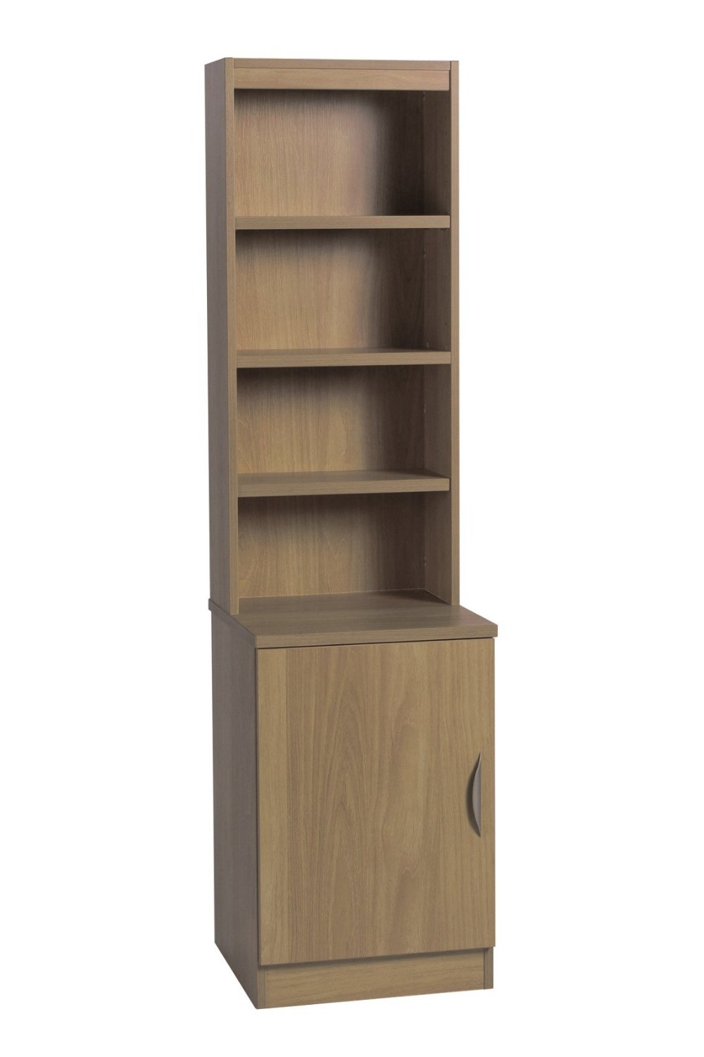 DESK HEIGHT CUPBOARD 480MM WIDE WITH HUTCH