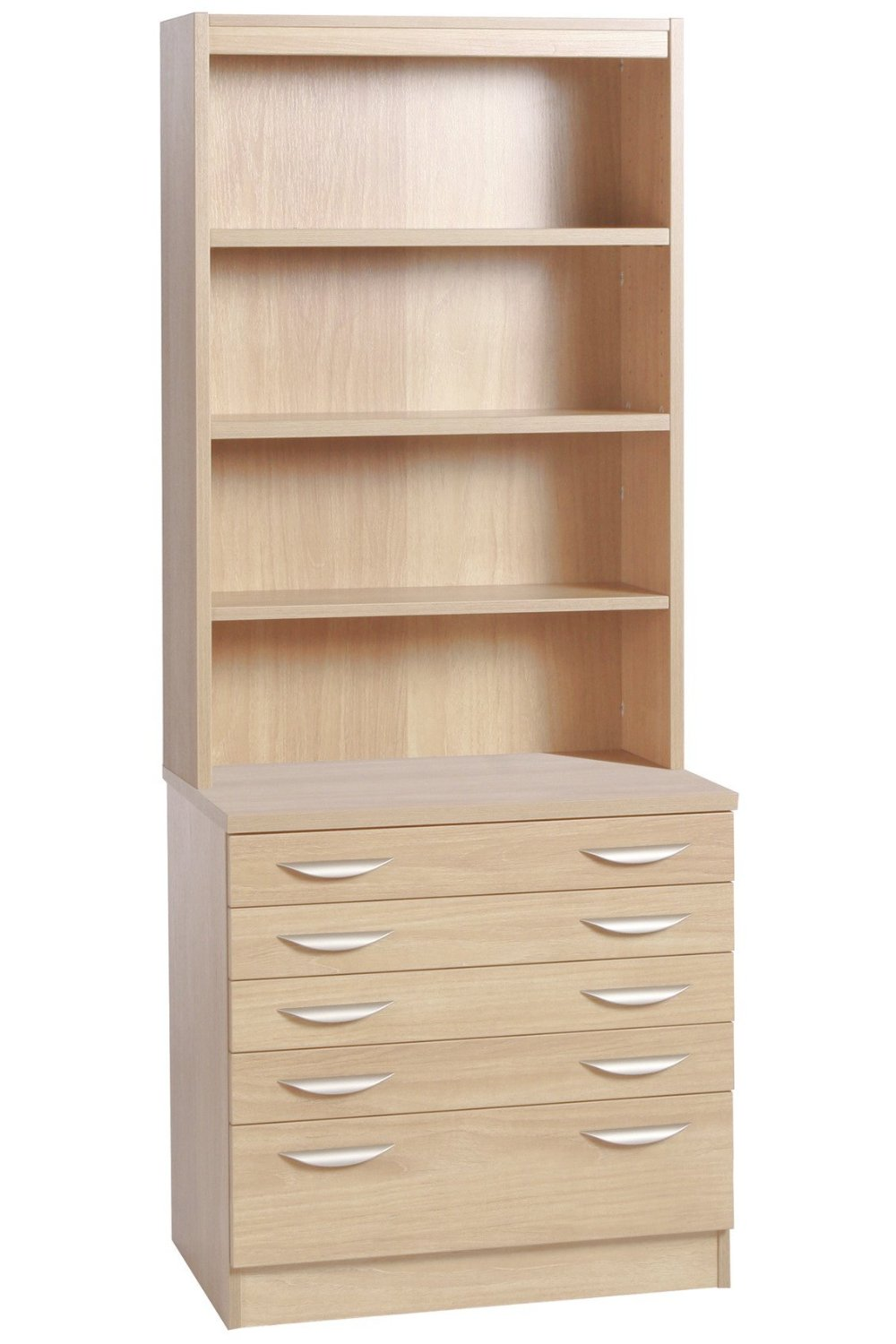 A2 PLAN CHEST WITH DEEP LOWER DRAWER AND HUTCH