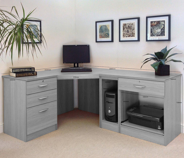 Office Furniture: HOME OFFICE FURNITURE UK DESK SET 18