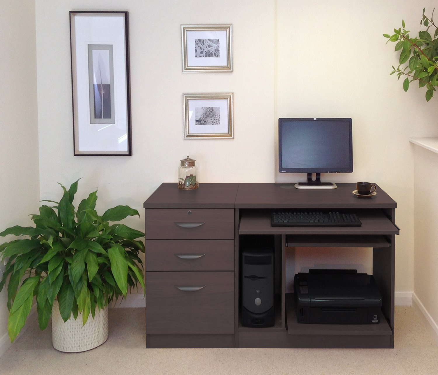 HOME OFFICE FURNITURE UK DESK SET 06 | Margolis Furniture