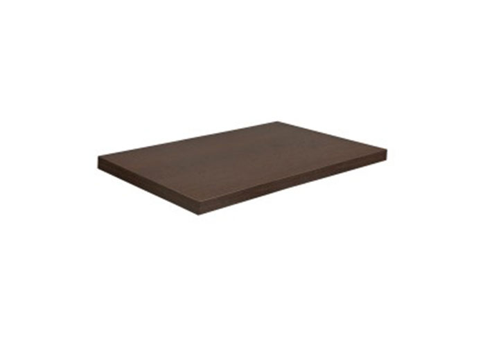 CHUNK - RECTANGULAR TABLE TOP - WENGE LAMINATE