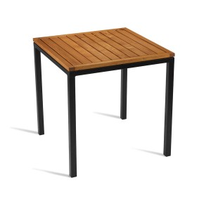 Wood Top Ice Dining Table
