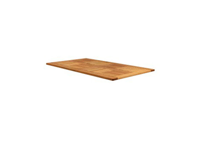 INSIGNIA - RECTANGULAR TABLE TOP - ROBINIA WOOD