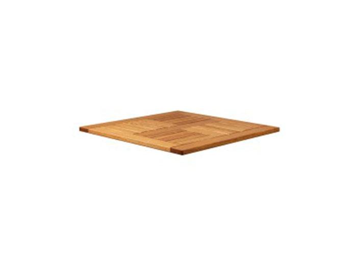 INSIGNIA - SQUARE TABLE TOP - ROBINIA WOOD