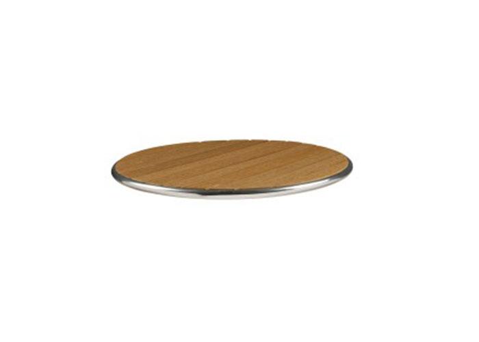 LIKEWOOD - ROUND TABLE TOP - TEAK