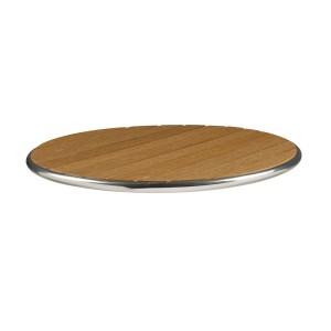 LIKEWOOD TEAK - ROUND TABLE TOP