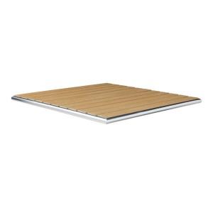 LIKEWOOD TEAK - SQUARE TABLE TOP