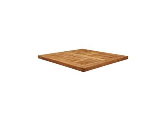 MALAY - SQUARE TABLE TOP - TEAK