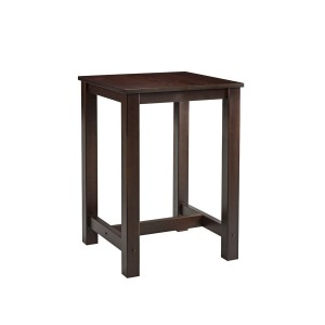Beech Mist Square Bar Table