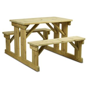 Newport Walk-In Timber Picnic Bench