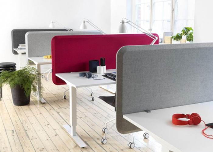 Domo Table Screen Dynamic Desk Partition